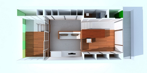consejos para vivir en un piso de 30 metros cuadrados