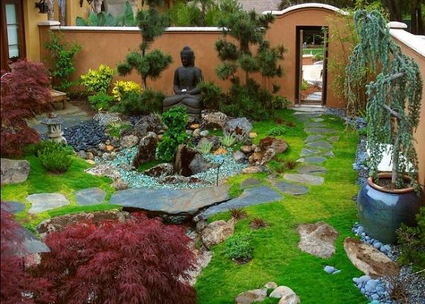 Ya es primavera ideas para decorar jardines yaencontre - Para que sirve un jardin zen ...
