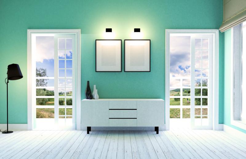 T cnicas para pintar paredes con pistola y m s t cnicas for Colores nuevos para pintar la casa