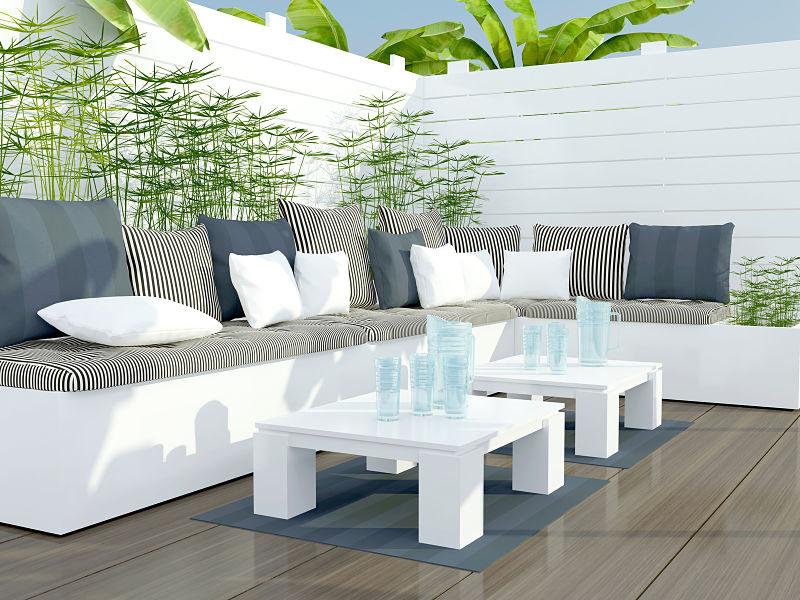 Terrazas decoraci n de exteriores con estilo - Decoracion para terrazas exteriores ...