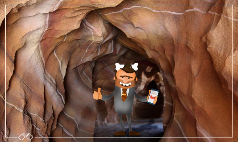 Casas de lujo en una cueva: el suelo no es para cavernícolas