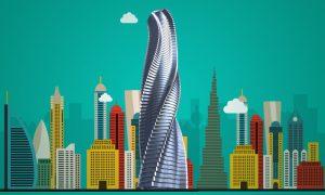 Así será el primer rascacielos giratorio del mundo