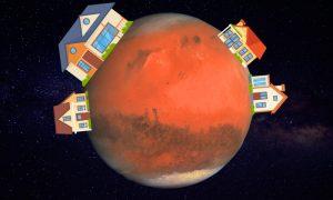 ¿Cómo compraremos pisos en otros planetas?