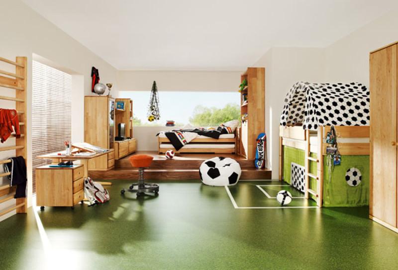 Futbol-habitacion