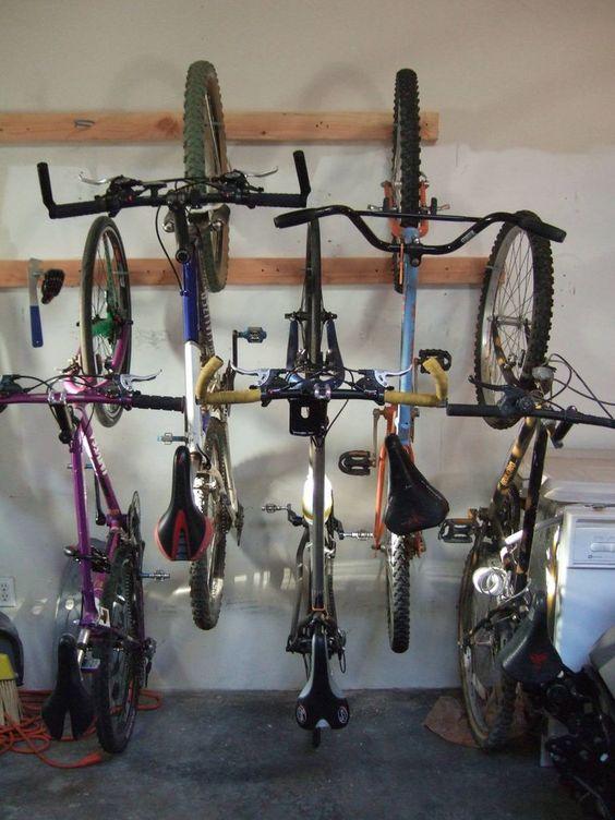 Guardar bicis techo 2