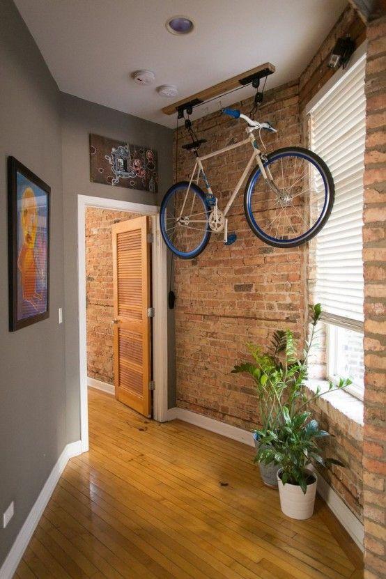 Guardar bicis techo