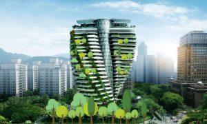 Agora Garden: un bosque en el cielo de Taipei