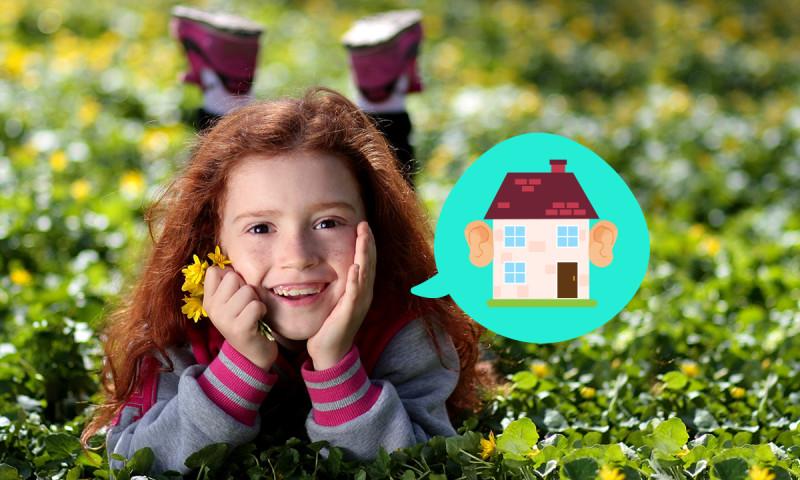 Así ven los niños la casa del futuro