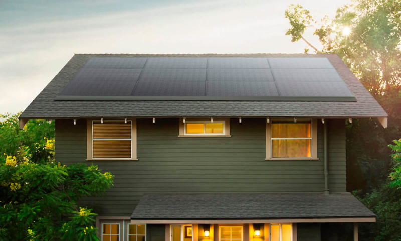 paneles solares de Tesla