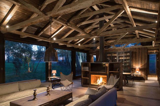 Decoraci n de casas r sticas reutiliza lo viejo - Casas rusticas de madera ...