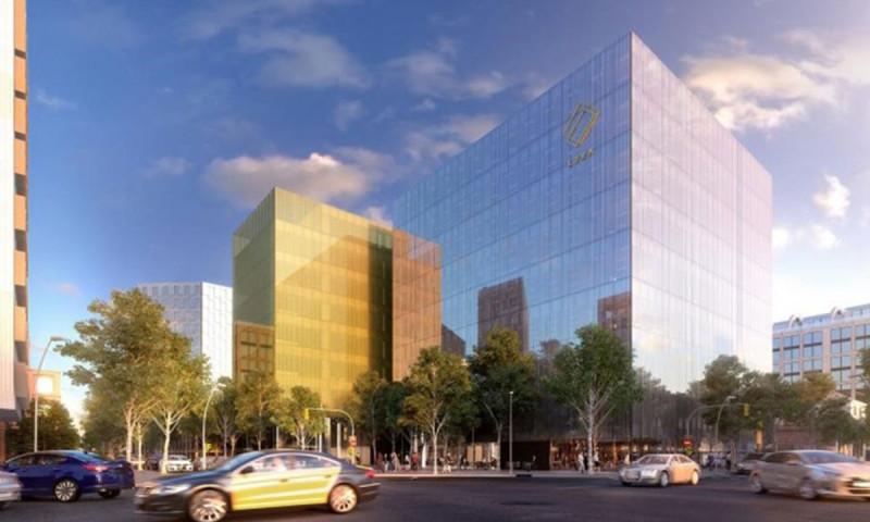 Así será el edificio de Amazon en el 22@