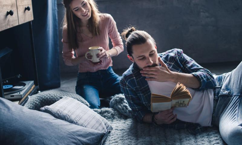 El hogar perfecto para amantes de la lectura