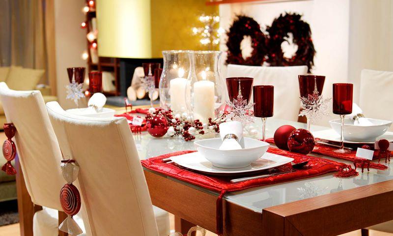 C mo preparar la mesas de navidad para sorprender a tus - Preparar mesa navidad ...