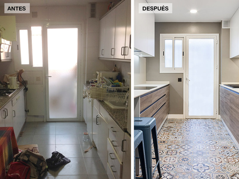 Mira tu casa reformada antes de ponerte manos a la obra - Reforma piso antiguo antes despues ...