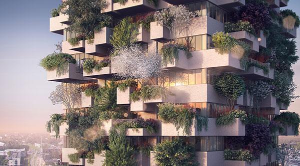Bosque vertical en Eindhoven