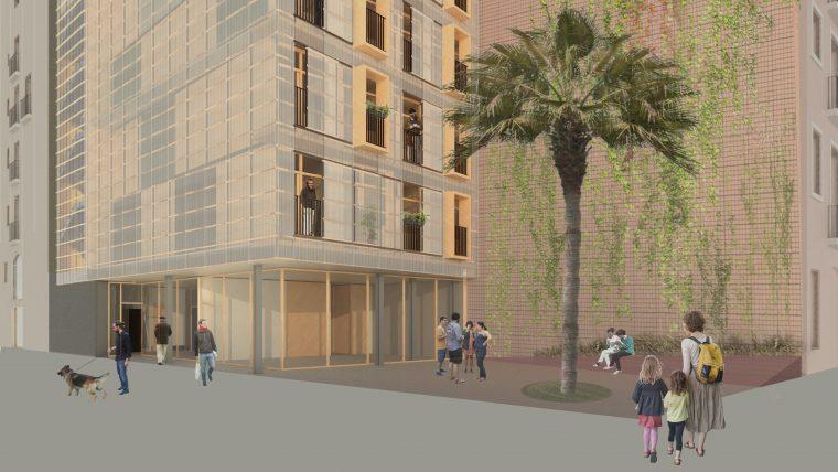 Barcelona proyecta aprop vivienda social en pisos - Casas prefabricadas barcelona ...