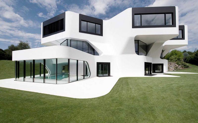 Casas futuristas un recorrido por esta incre ble arquitectura for Casas futuristas