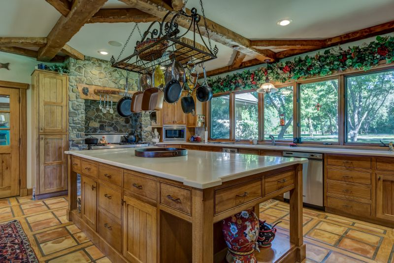 Las cinco claves de una cocina r stica yaencontre - Cocinas rusticas de madera ...