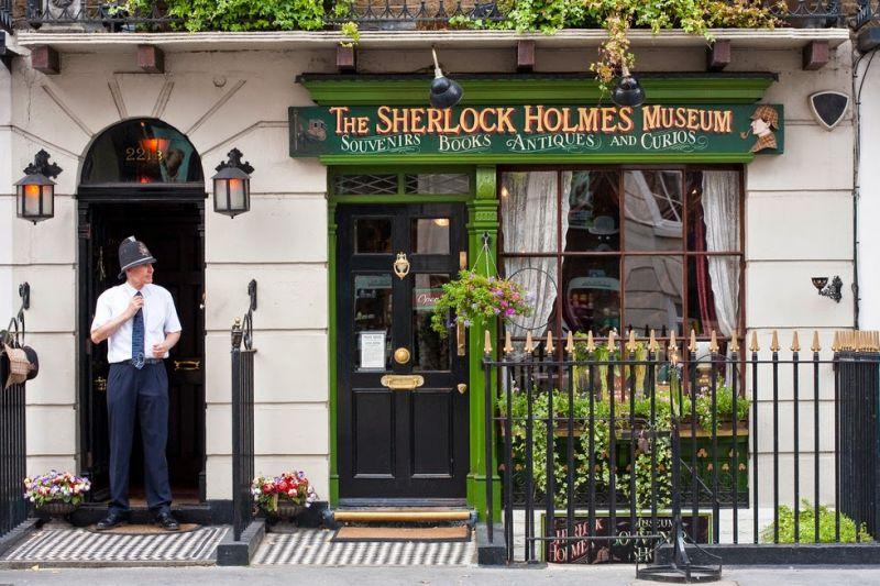Casas famosas ocho viviendas hist ricas y visitables en - Casa de sherlock holmes ...