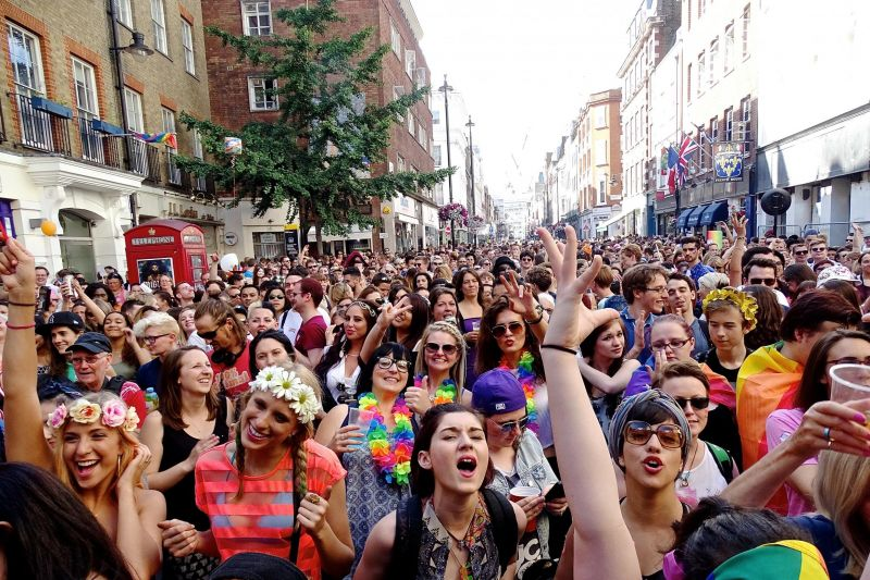 Black and gay events in London, United Kingdom