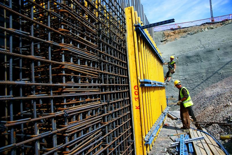 Crece la actividad en la construcción