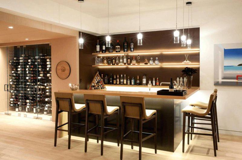 Sue o cumplido pon una barra de bar en tu casa yaencontre - Barra de bar en casa ...