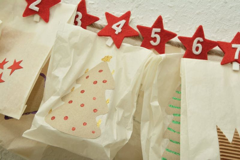 Calendarios de adviento diy