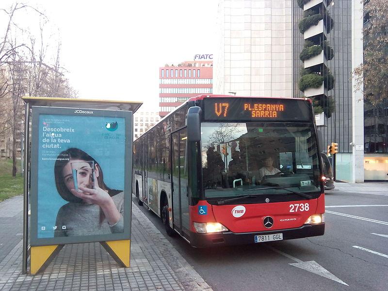 Pisos en Barcelona cerca del autobús