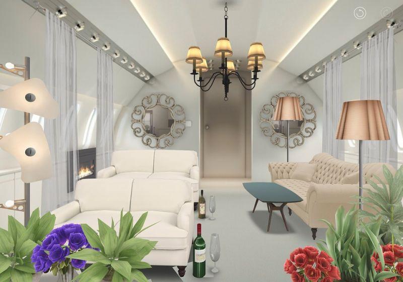 Un piso en Barcelona decorado virtualmente