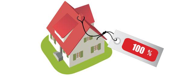 Resultat d'imatges de hipoteca 100%